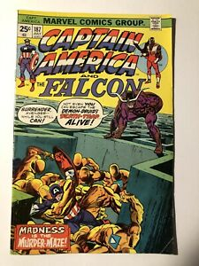 MARVEL COMICS CAPTAIN AMERICA #187 Falcon