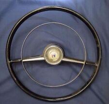 54 Ford Passenger Car Horn Ring  & Steering Wheel
