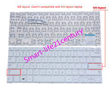 New for Samsung 905S3G NP905S3G 915S3G NP915S3G 915S3G-K04 US Keyboard white