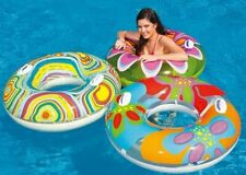 Intex Piscine gonflable tube transparent à motifs ring Flotteur W / poignées