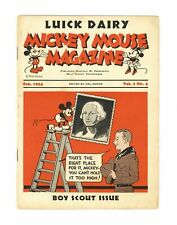 New listing Mickey Mouse Magazine 2nd Giveaway Series Vol. 1 #4 Gd 2.0 1934