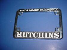Harley Davidson Dealer Advertising License Plate Frame Yucca Valley Ca 6278