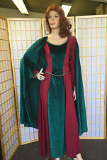 Adult Small Medieval Maid Marian / Lady in Waiting Costume