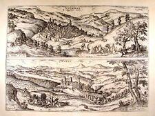Antique map, Nocerra in appennino monte / Catel Novo