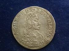 XV ( 15 ) Kreuzer Leopold selten 1663 St. Veit STV 63.1.1 a W/17/268