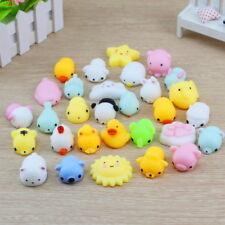 20Pcs Cute Mini Soft Mochi Animal Squishies Squeeze Toys Stretch Stress Squishy