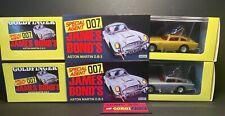 Corgi Toys Hornby - JAMES BOND ASTON MARTIN DB5 Silver & Gold Versions 04204 NEW