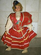 Portugais PORTUGAL COSTUMES MALLET 1683 Portuguese man /& woman in 17C dress