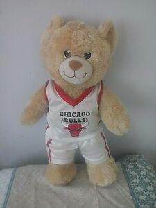 Chicago Bulls NBA Basketball Soft Plush Teddy Bear - 42.0 CM