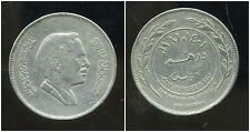 JORDANIE  100 fils ( 1 dirham )  1981 - 1401