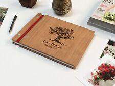 Tree Wedding Guest Book Custom Guest Book Wedding Gift Wedding Photo Album