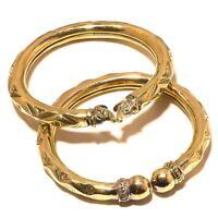 Tibetan Silver Brass Bangel Cuff Handmade Fashion Jewellery