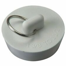 "Plumb Pak Pp820-39 Rubber Drain Stopper 1-3/8"" - 1-1/2"", White *"