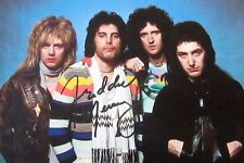 Freddie Mercury Queen Band SIGNED 8x10 PHOTO