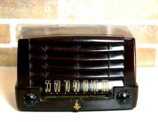 RADIO EMERSON Mod 547A-Brown (1947) WAIMEA BAKELITE PLASKON VINTAGE TUBE VALVOLE