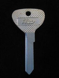 YM8 OPEL KEY BLANK Ignition Doors 1965-1970 Rallye Kadett Opel 66 67 68 69