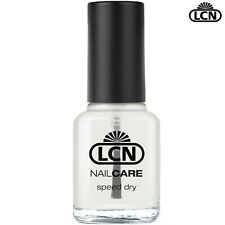 LCN Nails 8ml Speed Dry Top Coat - Extremely Fast Drying Top coat