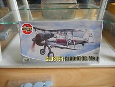 Modelkit Airfix Gloster Gladiator MK I on 1:72 in Box