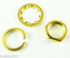 1 sets Screw nut Three-piece a set for Standard SMA 1/4 - 36UNS-2B Gold Plated