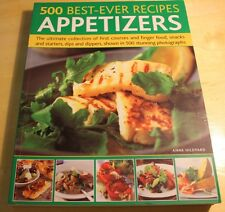 500 Best-ever Recipes  Appetizers : The Ultimate Collection of Finger Food