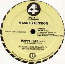 MASS EXTENSION - Happy Feet - 4th & Broadway 1985 Usa - BWAY 412
