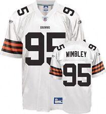 Kamierion Wimbley Cleveland Browns NFL Replica Jersey by Reebok medium NWT AFC