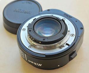 Modified Nikon TC-16A teleconverter for nikon DSLR's MF lens to semi AF