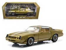Greenlight 1:18 1981 Chevrolet Camaro Z28 Diecast Model Metallic Gold 12907