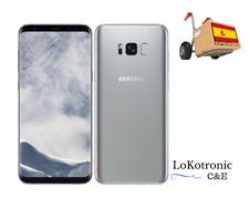 MOVIL SAMSUNG GALAXY S8 G950 64GB PLATA, LIBRE + REGALO FUNDA TRANSLUCIDA PLATA