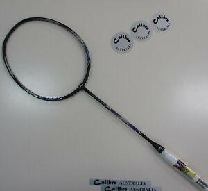 Li-Ning Windstorm 74 Badminton Racquet, Black/Silver, 74g, Choice of String
