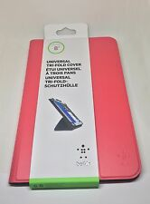"Belkin Pink Universal 8"" Tri-Fold Folio Case/Cover With Stand for iPad Mini"