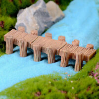 Corridor dock Resin Miniature Figurine Garden Dollhouse Decor Micro Landscape RK