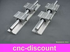 CNC Set 20x 1800mm 2x Linearführung 4x Linearwagen Linear Guide Rail 3D Fräse ro