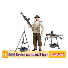 Dragon #75030 1/6 British Bren Gun w/Anti-Aircraft Tripod-Figure not included