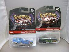 Hot Wheels Larry's Garage Metrorail Nash Metropolitan Cars Lot of 2 HW#31