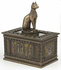 New listing Egyptian Bastet Sculpture Jewelry Box Statue Figurine *Perfect Holiday Gift