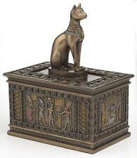 Egyptian Bastet Sculpture Jewelery Box Statue Figurine
