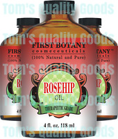 100% Organic Rosehip Oil Rose Hip Heal Dry Skin Wrinkles Gift THERAPEUTIC GRADE