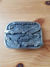 SNAP-ON SALUTES 40 YEARS OF CORVETTES BELT BUCKLE