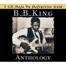 B.B. KING - ANTHOLOGY - BOX-SET 5 CD NEW!