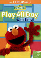 Sesame Street: Play All Day with Elmo! (DVD, 2015) NEW