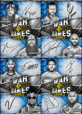 Topps SLAM NXT TakeOver WarGames 2018 [4 CARD BLUE SIGNATURE SET] Cole/Ciampa+++
