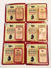 Altoids Strips Cinnamon Breath Strips Lot Of 6 Tins New