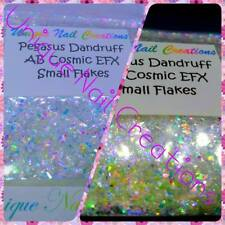 AB Cosmic EFX Flakes~PEGASUS DANDRUFF~Nail Art•Acrylic•Gel•Face•Festival•Crafts