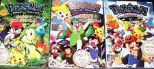 DVD Pokemon Master Quest Season 5 + Johto Season 3 + 4