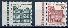 Briefmarken aus der BRD (1960-1969) mit Bauwerks-Motiv
