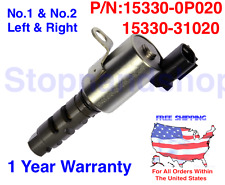 New Engine Valve Assy, Cam Timing Oil Control Solenoid for Lexus Toyota LH RH