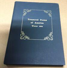 Treasured Poems of America, Winter 1994