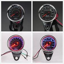 复制Universal LED Backlight Tachometer Dual Speedometer Motorcycle Accessories New