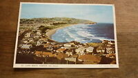 OLD POSTCARD OF NEW ZEALAND, VIEW OF DUNEDIN, ST CLAIR BEACH